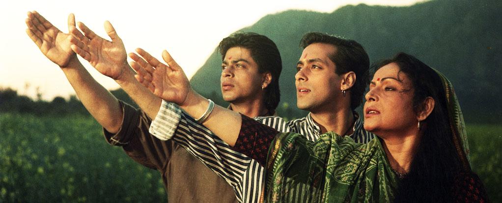 Salman khans blockbuster with shah rukh khan, karan arjun, was directed by rakesh roshan